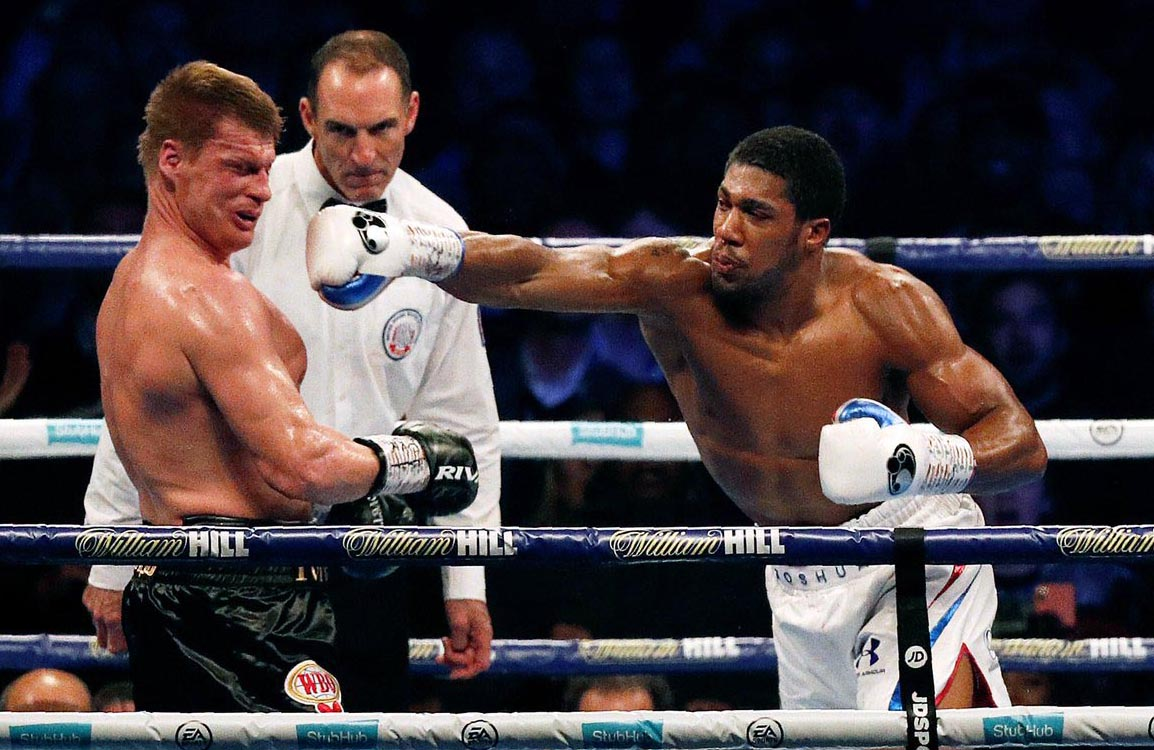 Anthony Joshua News from Watford, London wins fight over Povetkin