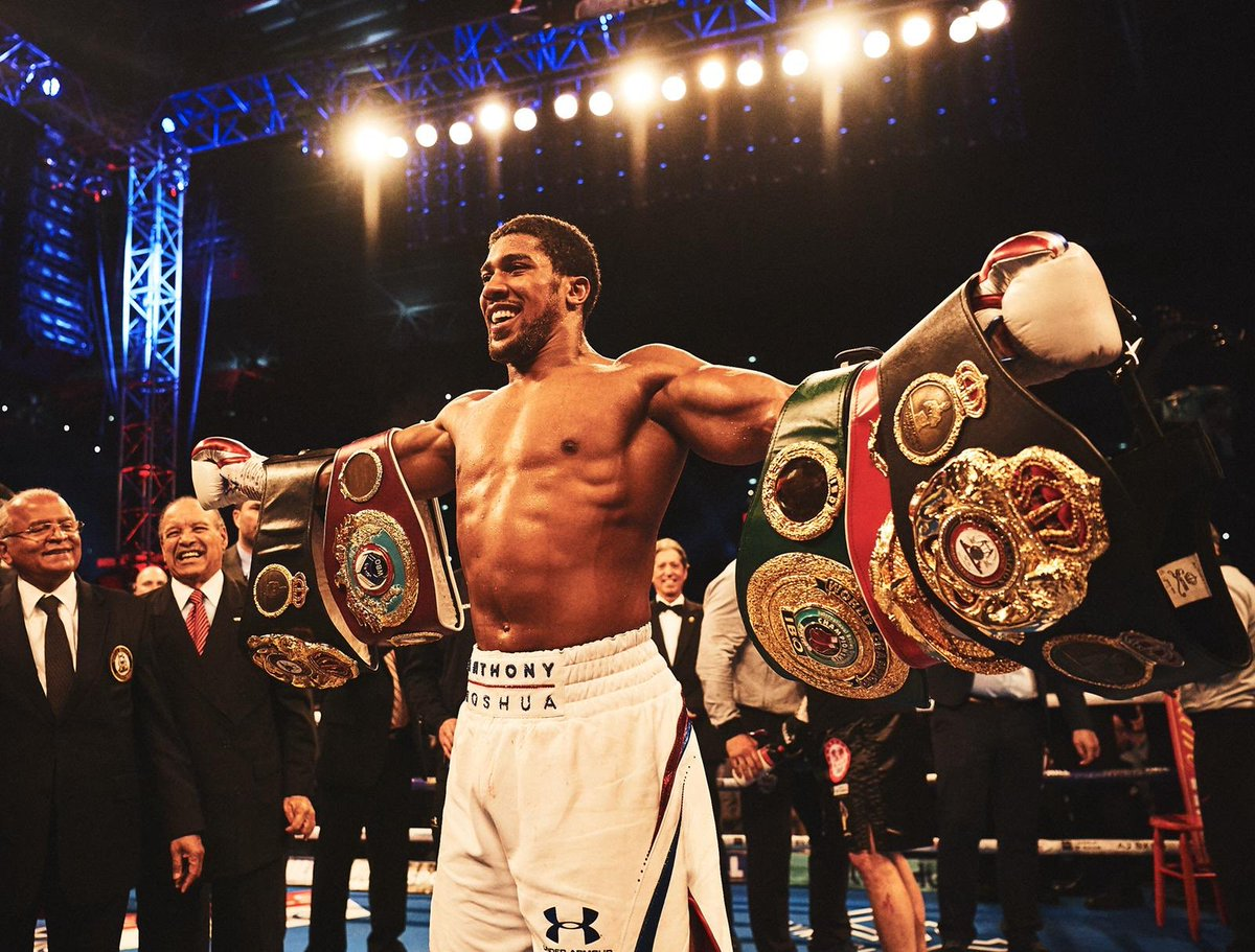 Anthony Joshua News from Watford, London beats Povetkin