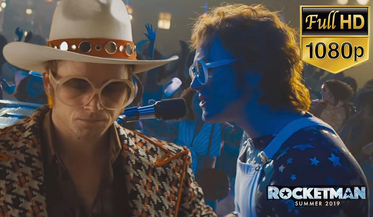 Sir Elton John Takes Center Stage in Dazzling Rocketman Movie