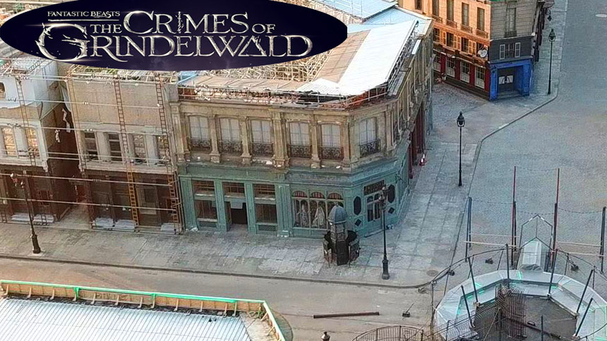 Fantastic Beasts 2 Crimes Of Grindelwald Warner Bros Film Set UK