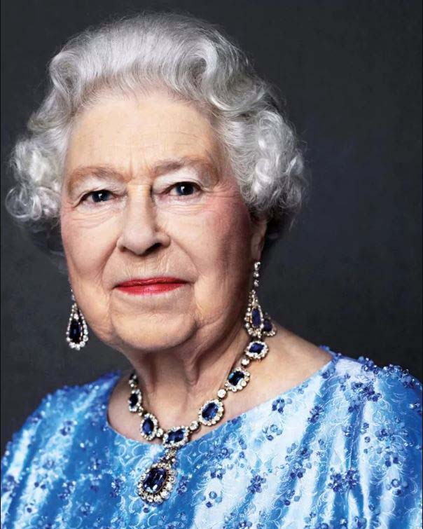 Britains Queen Elizabeth II makes historic Saphire Jubilee Feb 6th 2017