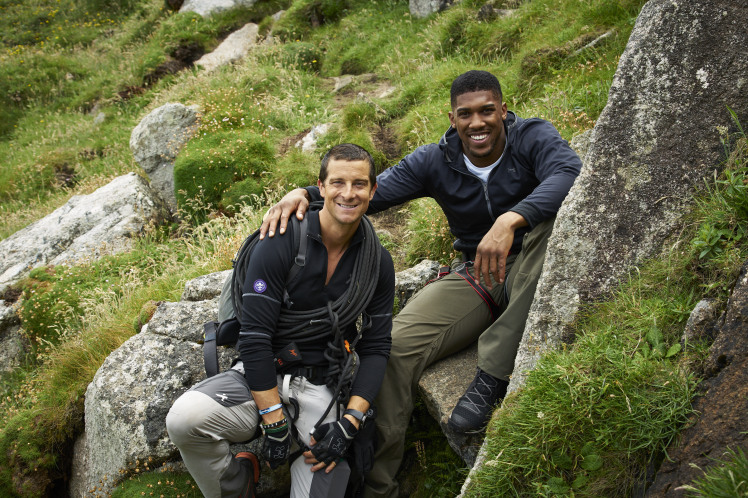 Bear Grylls took boxer Anthony Joshua to one of the UK's most remote locations for new ITV 'mission'