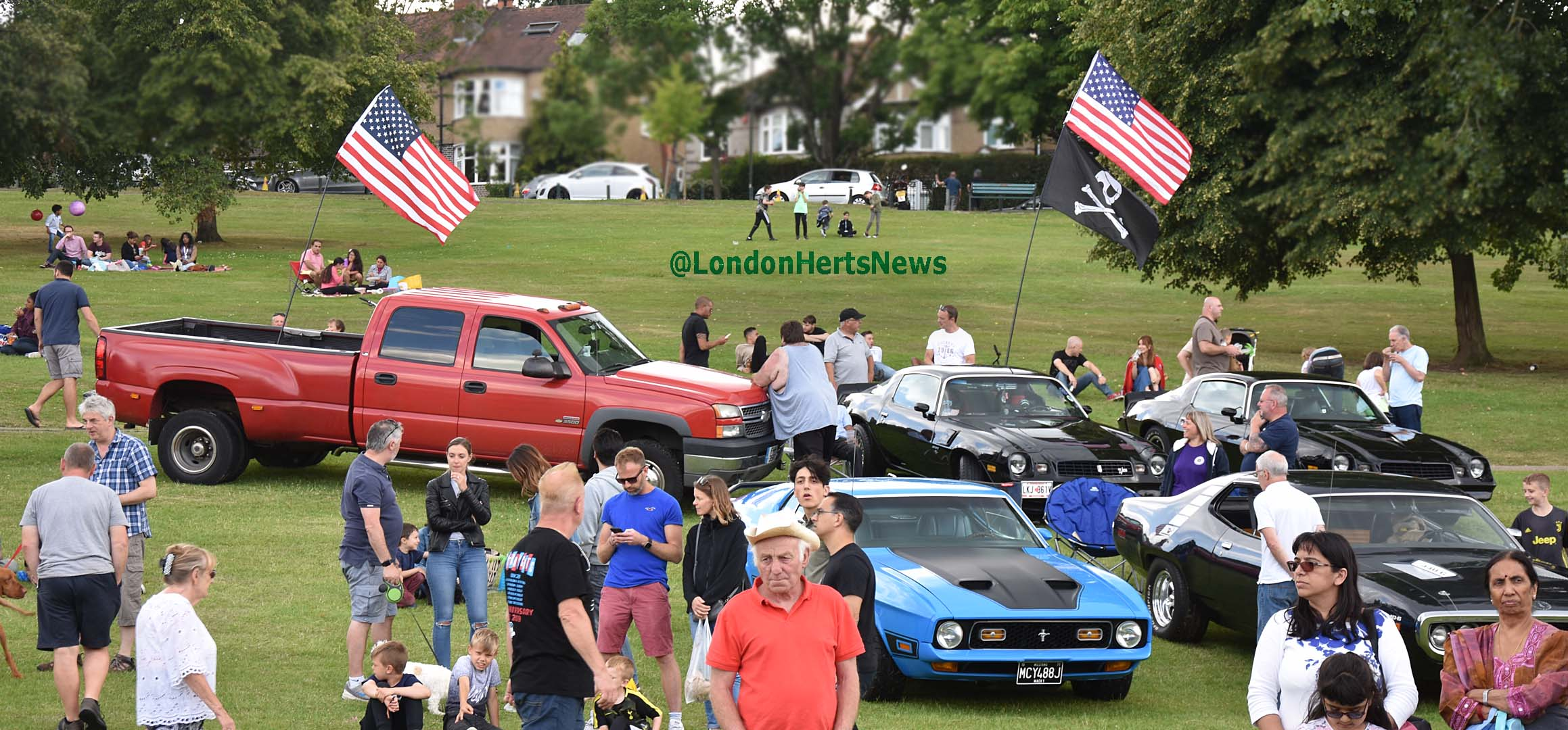 Barnet: Cars in the Park Show 2019