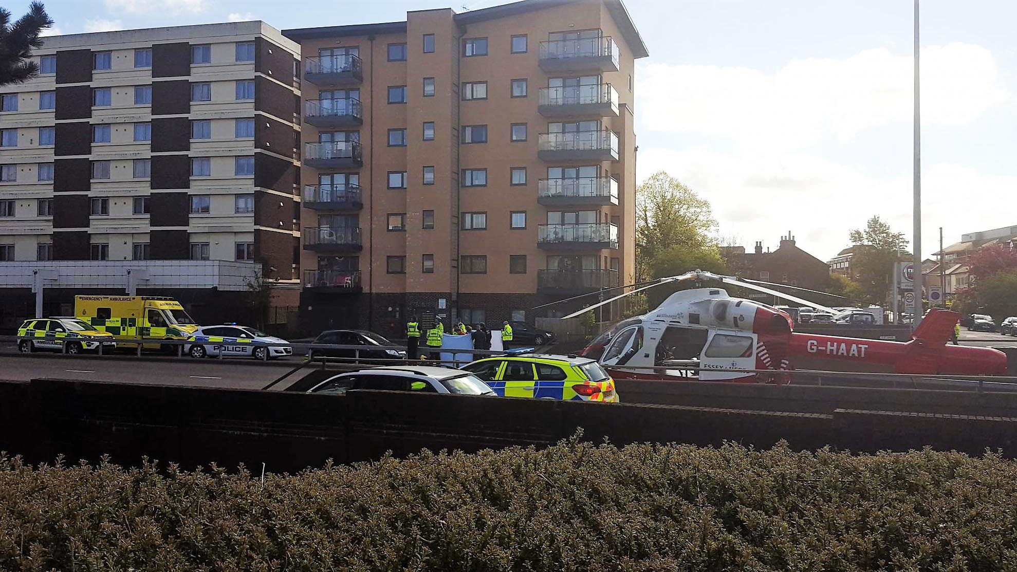 Boy in Hospital with serious head injuries after being Hit By Car in Watford