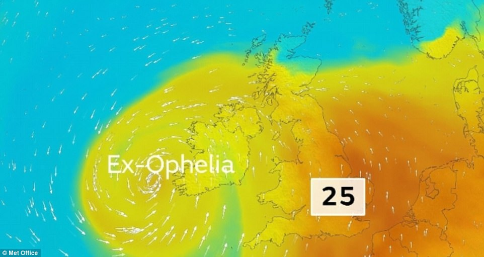 Ophelia shows Future Hurricanes could reach Europe