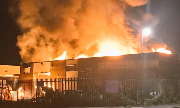 Watford Junction Trains into London Euston cancelled after huge fire in Harrow