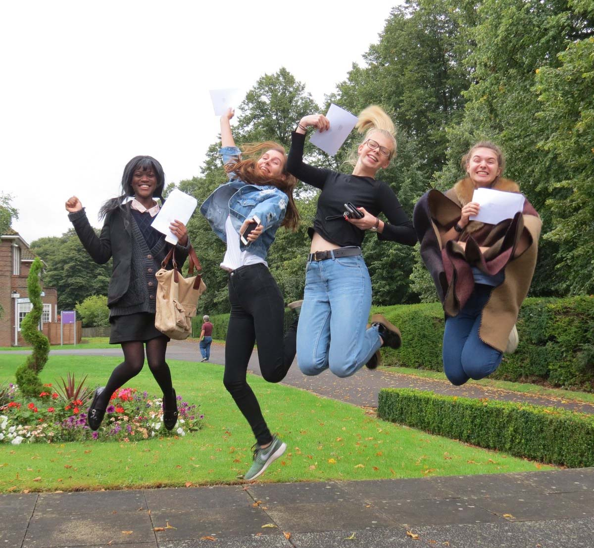 On the 17 Aug 2017, Almost half of Yr 13 RMS A Level grades at A*/A grade