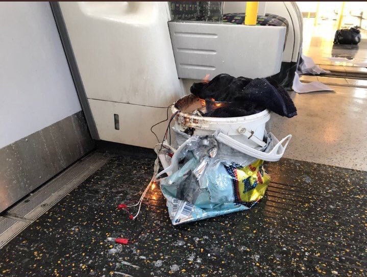 An 18-year-old man has been arrested in connection with the attack that injured nearly 30 on a packed London subway train, police said on Saturday.