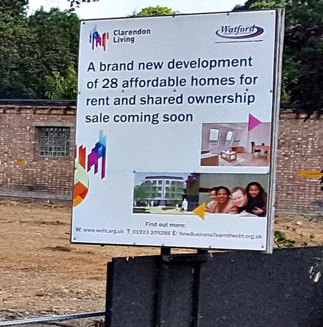 North Watford Police Station Demolished for Development by WCHT