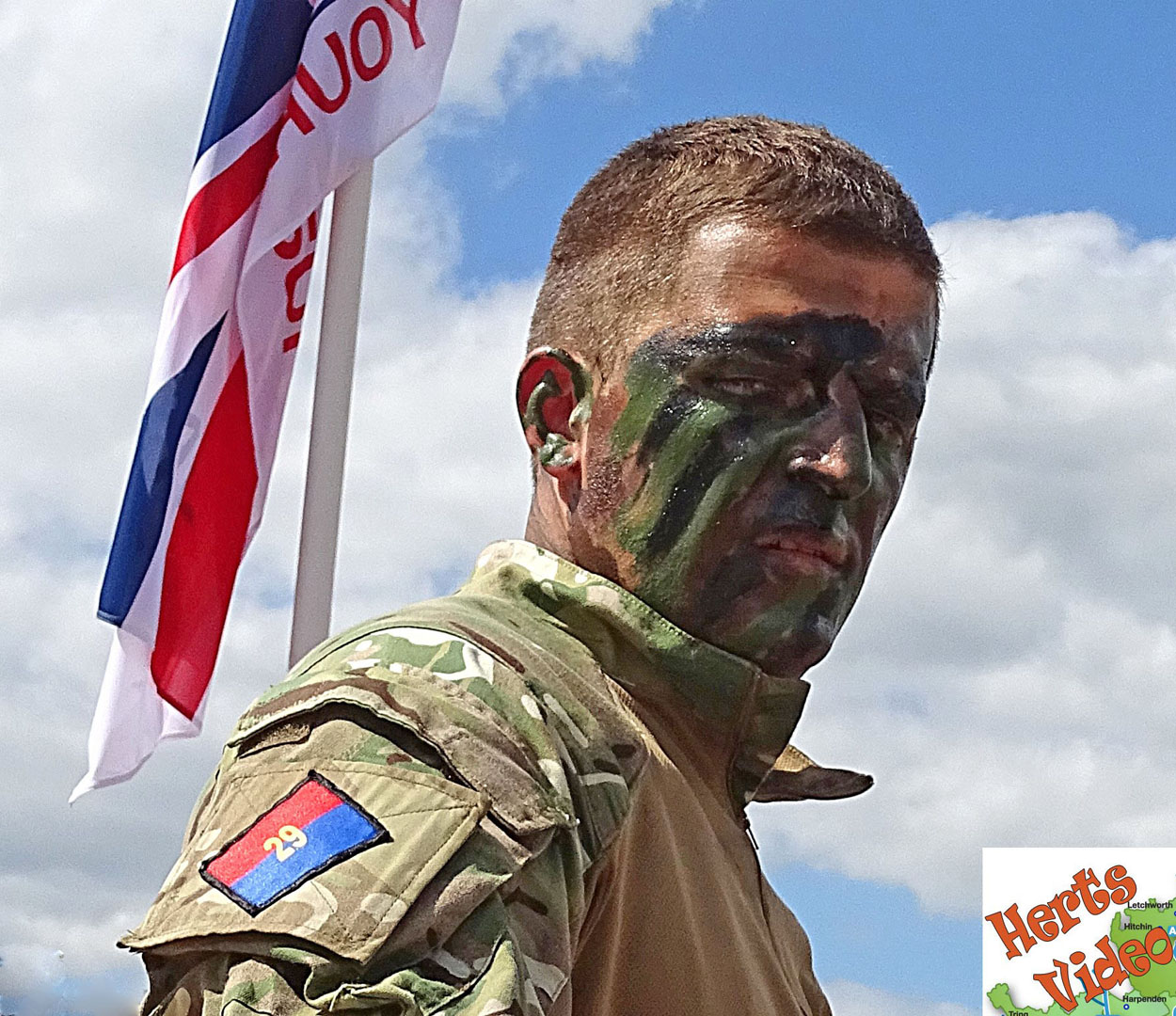 HARPENDEN ARMED FORCES DAY ARMY SOLDIER