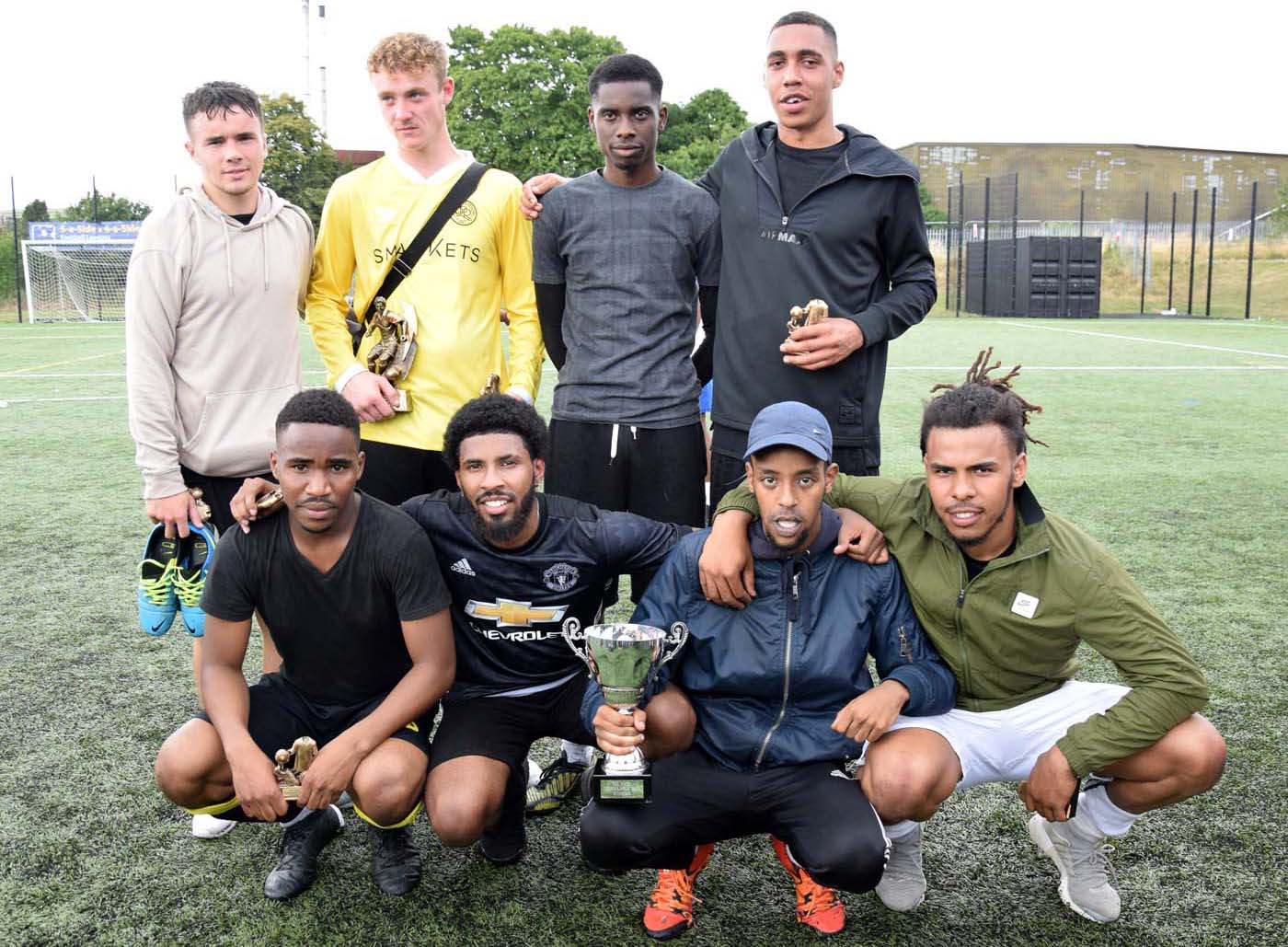Winning Team 10th annual Ali Naqi Memorial Tournament
