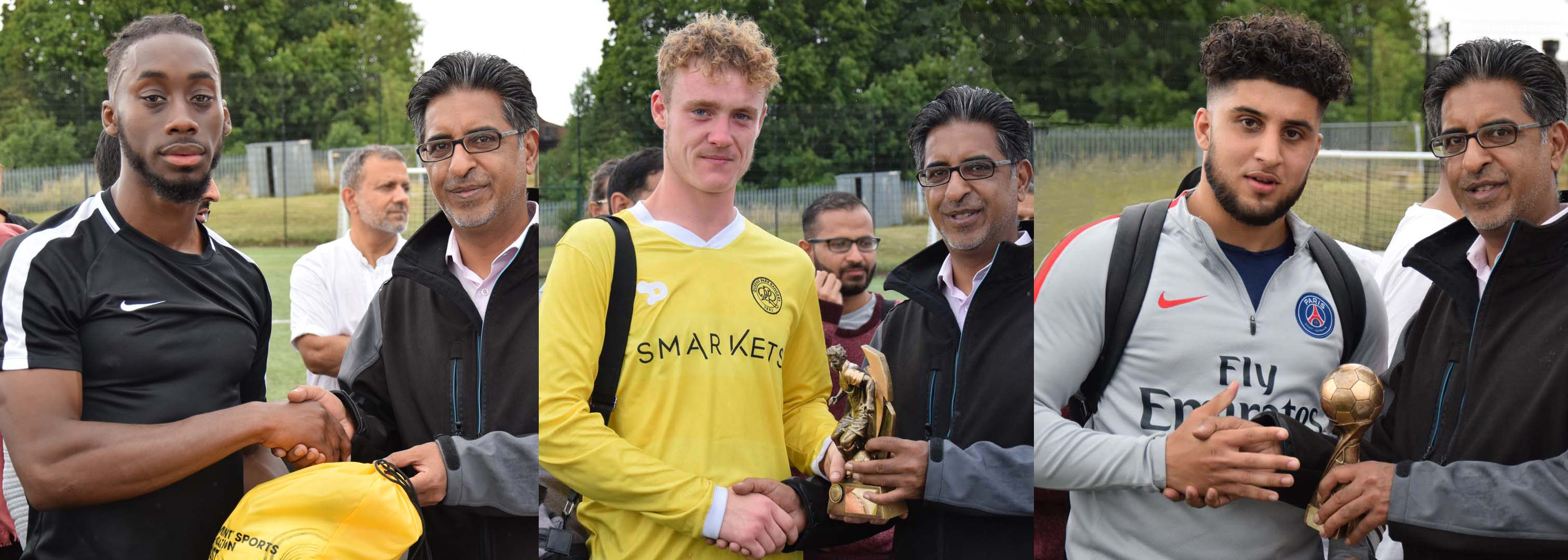 Award Trophy winners 10th annual Ali Naqi Memorial Tournament