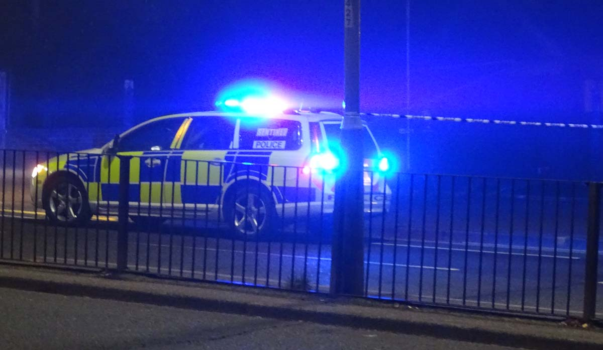 Police Investigation Closed St Albans Road on Saturday Night due to Collision