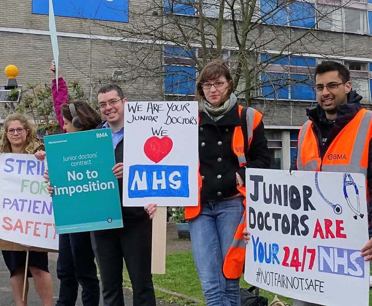 Prospect of further junior doctors' strikes increases