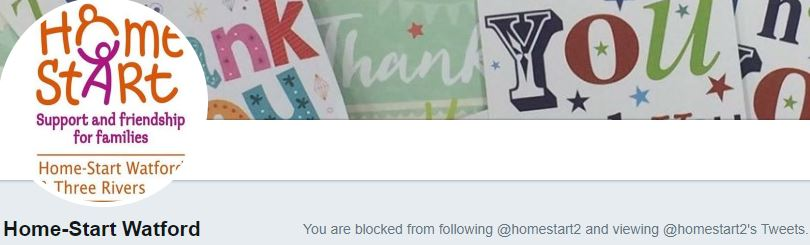 Since reporting this cookie issue, homestart decided to block WatfordLondon. So much for friendship and community.