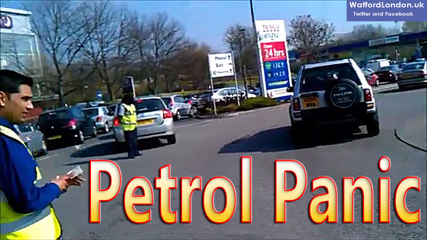 Petrol Station Pumps Run Dry as Motorists Fuel Frenzy grips the UK Nation