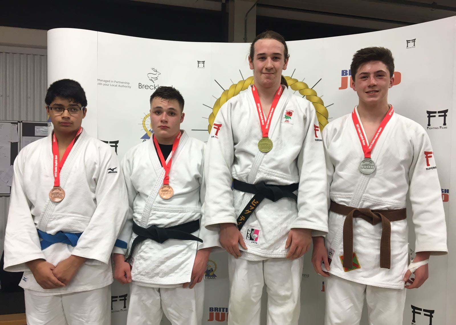 Hertfordshire's Teenage Heavyweight to represent England's Judo Championship in 2017