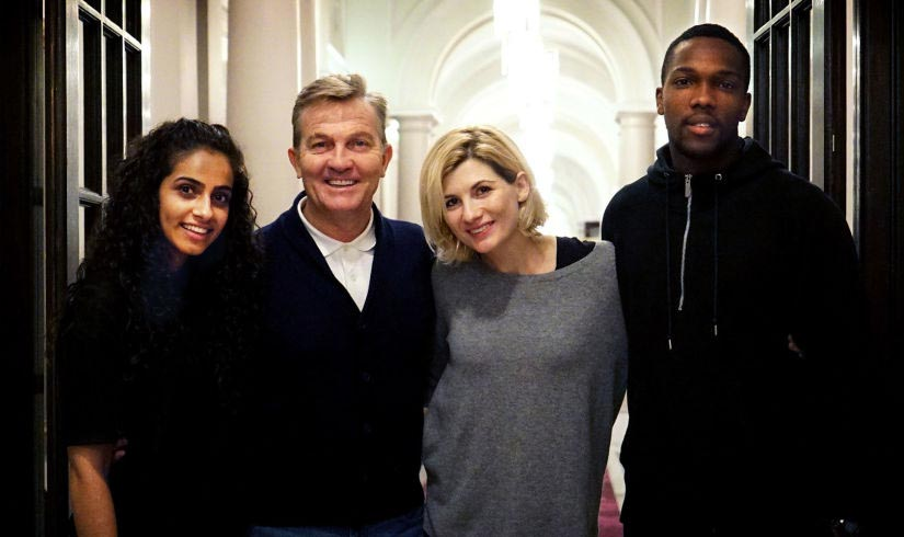 Doctor Who bosses cast Bradley Walsh as Jodie Whittaker Dr Who companion