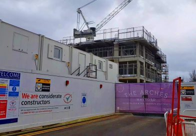 Gated Apartment Block Rises nr Bushey Arches for 2020