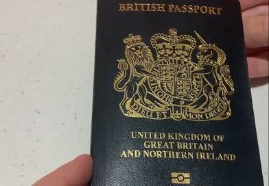 Iconic blue and gold British passport rollout