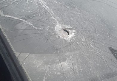 WCHT Tenant car screen smashed in Targeted attack