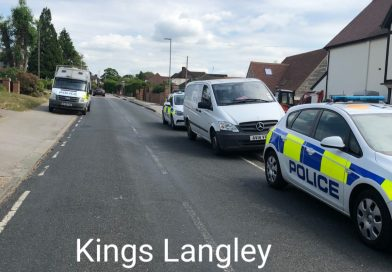 Raid for Dangerous Banned Dogs at Kings Langley house