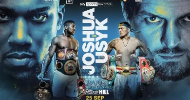 Anthony Joshua fight coming to Tottenham in September