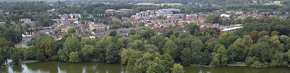 Rickmansworth is a small town in south-west Hertfordshire, England, northwest of central London and inside the M25 motorway.