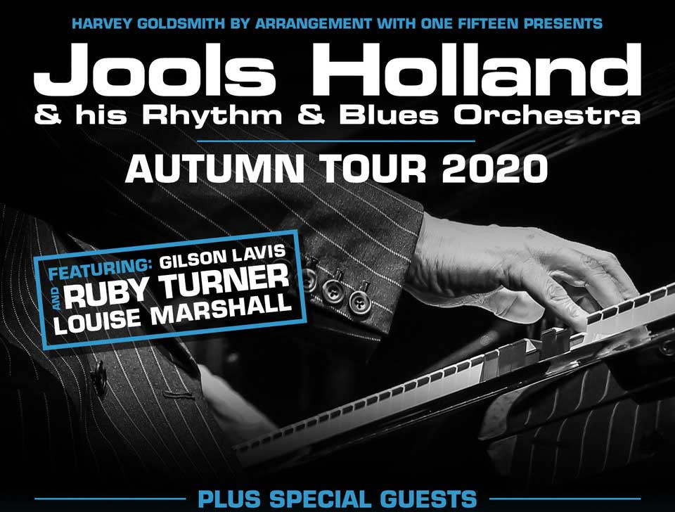Jools Holland, Autumn Tour, UK